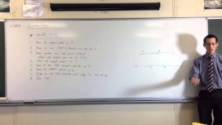 How to Construct Parallel Lines: Demonstration (Step-by-Step)