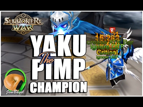 SUMMONERS WAR: YAKU the PIMP CHAMPION!