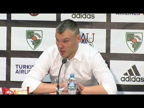 EuroLeague: Žalgiris Kaunas – Khimki Moscow Region press conference