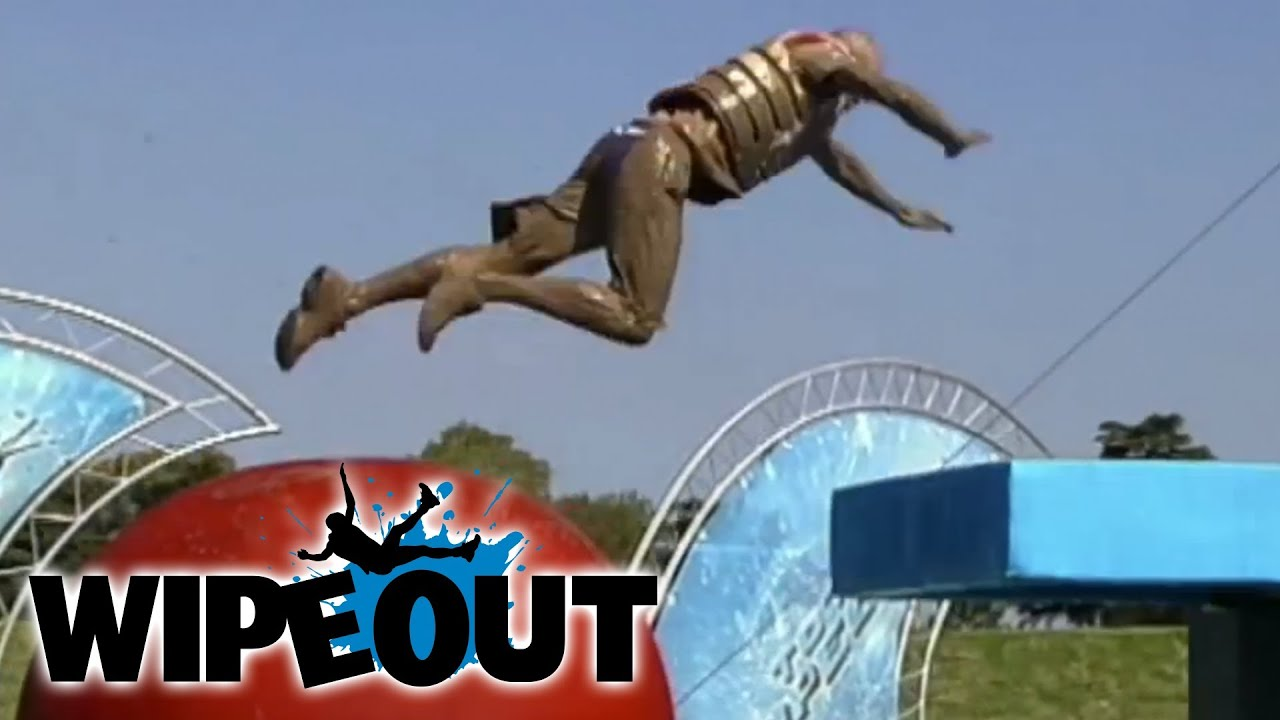 Fastest Run Ever | Wipeout - YouTube  Wipeout