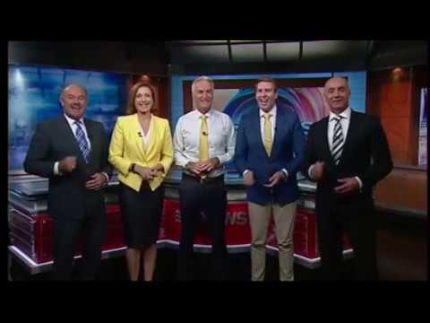 Nine News Lightning Grand Final message
