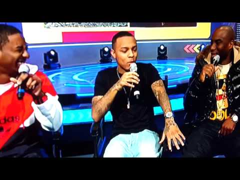 Charlamange disses bow wow...shorty laughing!!