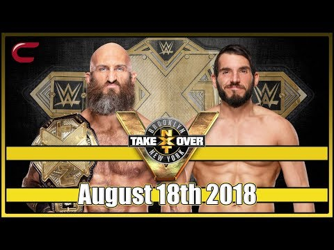 WWE NXT Takeover Brooklyn 4 Live Stream August 18th 2018: Live Reaction Conman167