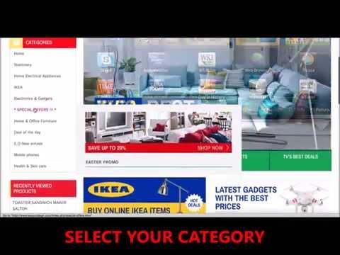 Shop online Ghana  - How to shop online with easyordergh.com