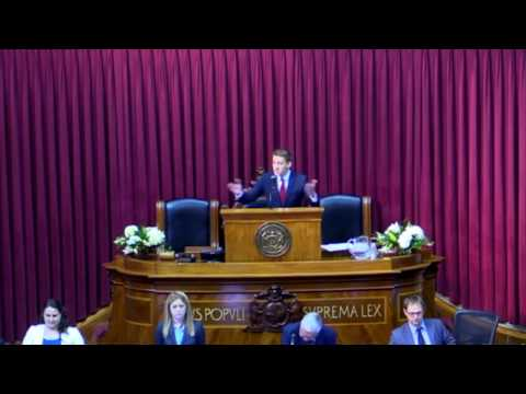 Jason Kander Address the Missouri Legislature [full] -- January 4, 2017