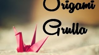 ●ω●Como hacer pajaros de papel / ♥Grulla Origami /♥how to make paper birds