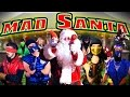 REAL MORTAL KOMBAT vs MAD SANTA CLAUS! (MKX Parody)