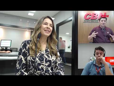 Entrevista CBN Campo Grande: Christiana Velloso Hilgert, oftalmologista