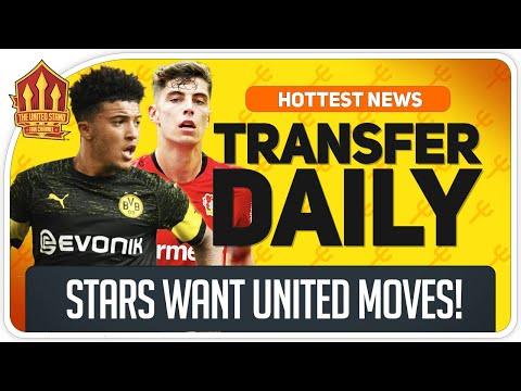 "Sancho ""Favours Man Utd Transfer""   Man Utd Transfer News"