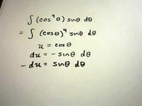 ❖ Integration Using U-Substitution ❖