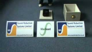 Звукоизоляция помещений - вата для звукоизоляции(Пример как работает вата в звукоизоляции. Здесь показано, что вата не является звукоизоляционным материало..., 2011-11-18T12:29:24.000Z)