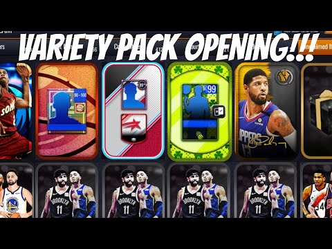 HUGE VARIETY PACK OPENING IN NBA LIVE MOBILE 20!!!