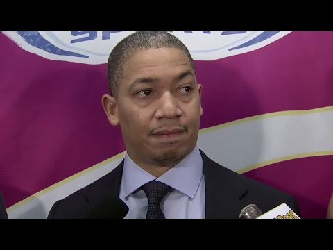 Tyronn Lue Postgame Interview / Cavaliers vs Pistons / Nov 20