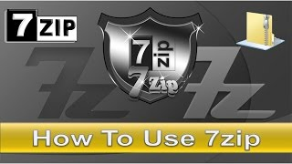How to use 7zip for file compression?