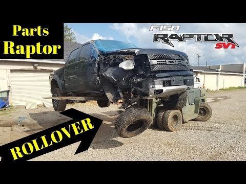 Rebuilding a Wrecked  Ford Raptor SVT bought from Copart Part 5