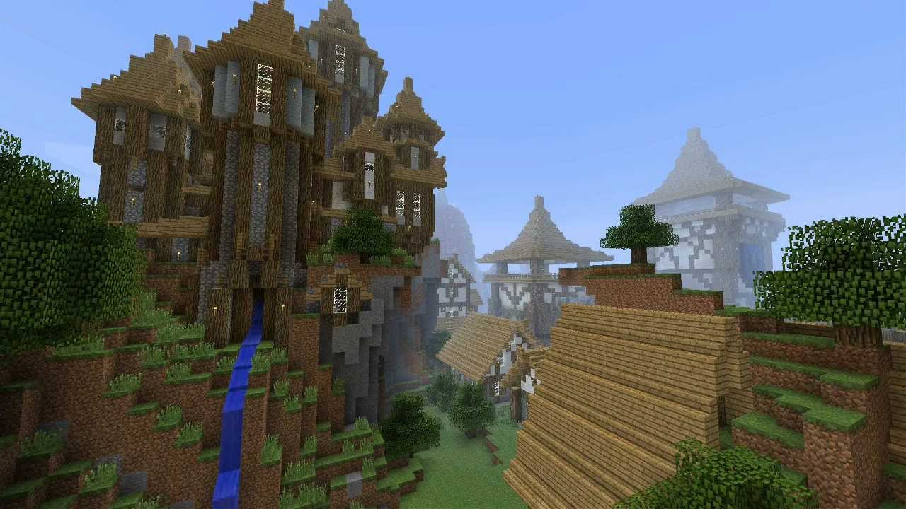 Minecraft Medieval City Quot Kargeth Quot Update 6 Youtube