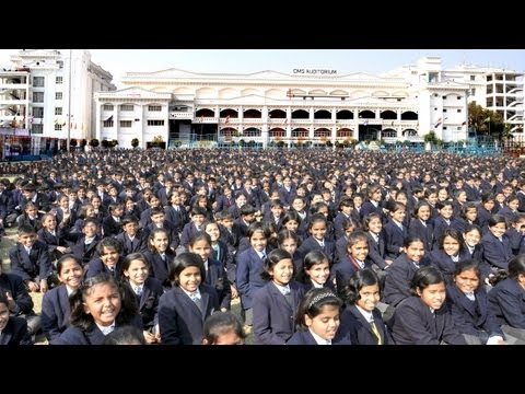 Biggest School In the World - City Montessori India