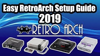 Easy RetroArch SetUp Guide 2018 Windows Also Works On MAC And Linux