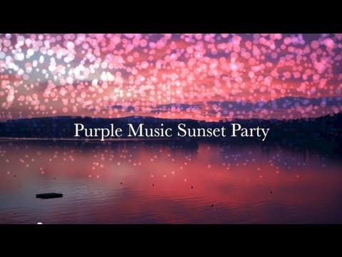 Purple Music Sunset Party