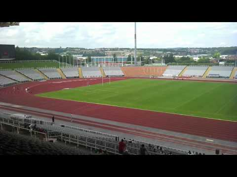Don valley stadium Sheffield,Parkside community school relay
