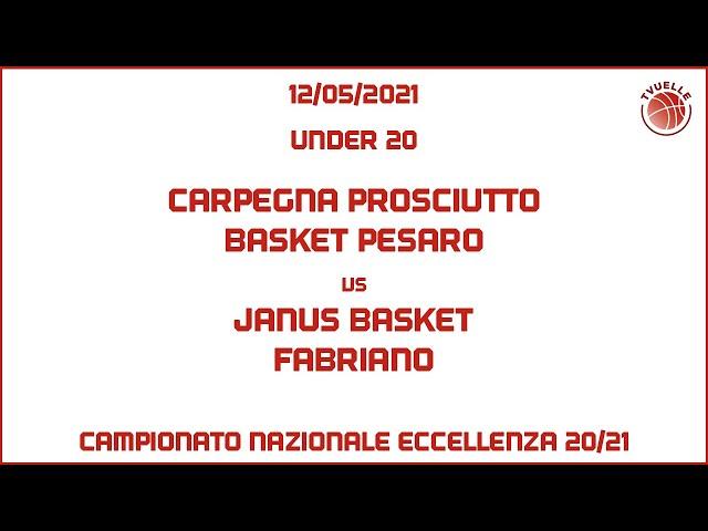 [u20] Carpegna Prosciutto Basket Pesaro - Janus Basket Fabriano: 68-77