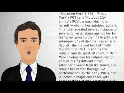 Tina Turner - Wiki Videos