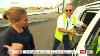 Hahn Air's Charter Business on n-tv Deluxe! (German)