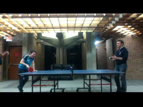 Playing Ping Pong with an iPhone