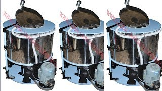 Hydro extractor machine for laundry & safety feature ..(hindi)