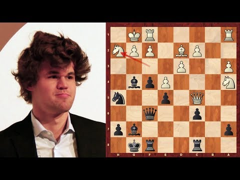 Dynamic Attacking Chess: How to attack the King! Caruana vs Magnus Carlsen Tata Steel (2015)