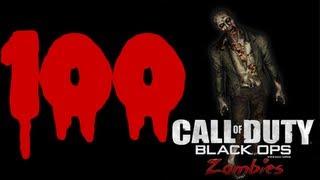 بلاك اوبس زومبي راوند 100|Black Ops Zombies Round 100 kino der toten