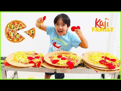 Ryan open a Pizza Restaurant for the family!