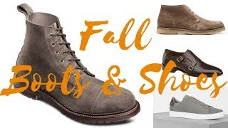 Best Men's Fall Boots & Shoes for 2017