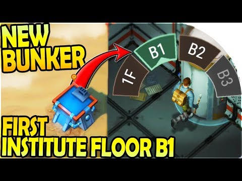 NEW BUNKER! - FIRST INSTITUTE FLOOR B1 + LOOT - Desert Storm Zombie Survival Gameplay
