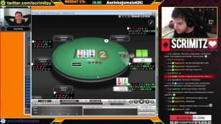 PokerStars NL50 Zoom Coaching with DaPokerGun 9th March