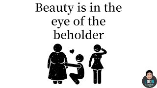 """[English] How to Say """"beauty is in the eye of the beholder"""" in Chinese, Japanese and Korean?"""