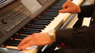 Jools Holland Puts the Yamaha CVP-609 Clavinova Digital Piano Through Its Paces