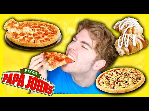 TASTING PAPA JOHNS PIZZA