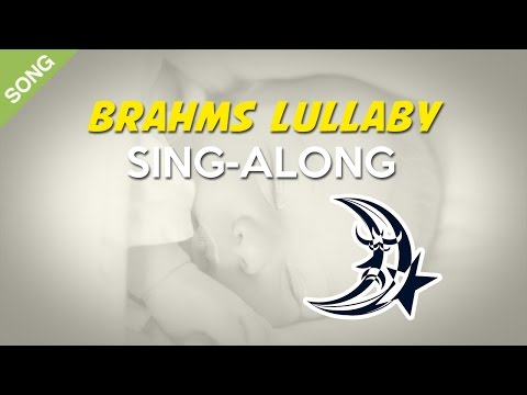 Brahms' Lullaby (Cradle Song) | Nursery Rhymes | Children Songs[Sing-Along with Lyrics]