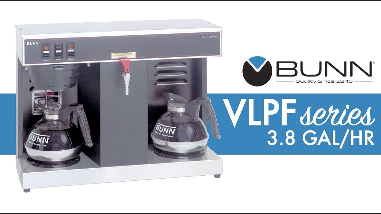 Bunn Vlpf Automatic Coffee Brewer Youtube Bxb Wiring Diagram