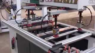 two rows boring machine