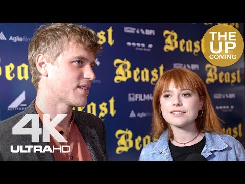 Johnny Flynn and Jessie Buckley  at Beast premiere