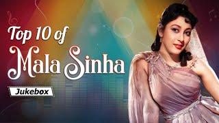 Mala Sinha Superhits | Top 10 Songs | Bollywood Blockbuster