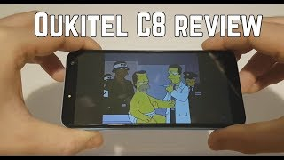 Oukitel C8 review: cheapest smartphone with infinity display
