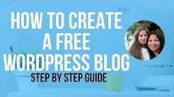 How To Create A Free WordPress Blog