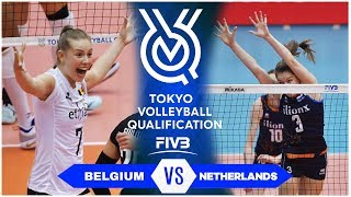 Belgium vs Netherlands | Highlights - Women | Volleyball Olympic Qualifying Tournament 2019 (HD)