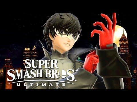 Super Smash Bros. Ultimate – Official Joker Gameplay Walkthrough & 3.0 Update Reveal