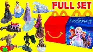 2019 Disney Frozen 2 McDonald's Happy Meal Toys