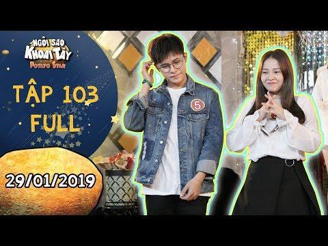 Ngôi sao khoai tây |tập 103 full: Song Nghi bất chấp tham gia cuộc thi dành cho cặp đôi với Hoàng Vũ