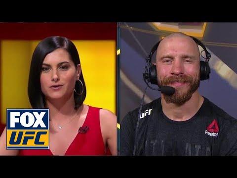 Donald 'Cowboy' Cerrone talks with the UFC on FOX crew | INTERVIEW | UFC FIGHT NIGHT